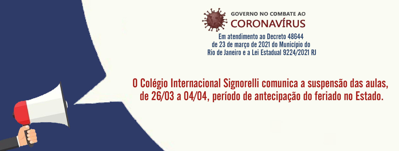 Comunicado Covid Signorelli