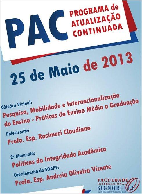 PAC 2013