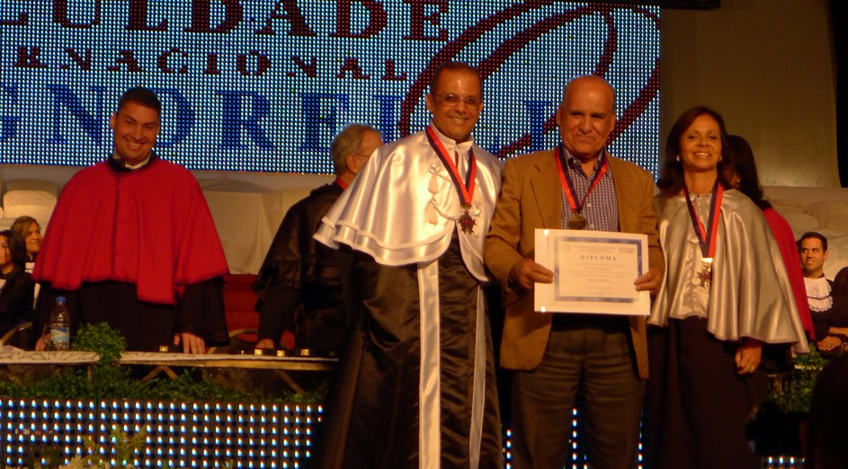 Entrega das Medalhas Família Signorelli