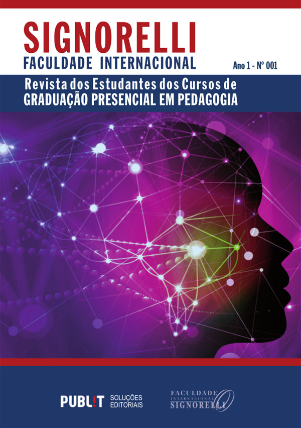 Revista dos Estudantes dos Cursos de Graduação Presencial em Pedagogia - Ano 1 N° 1